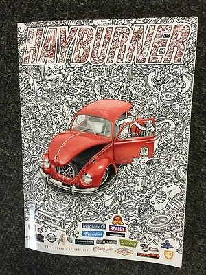 Hayburner VW Magazine Issue 17 official sales  beetle bay split aircooled t2 t25