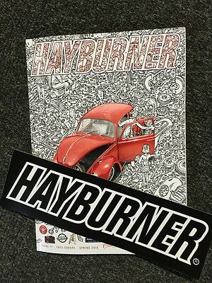 Hayburner VW Magazine Issue 17 with LARGE STICKER official sales beetle T2 T25
