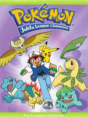 Pokemon: Johto League Champions - The Complete Collection New Region 1 Dvd