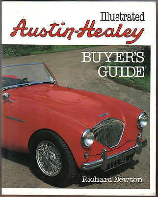 Austin Healey Illustrated Buyers Guide 100 100S 100M 100/6 3000 Sprite & Jensen