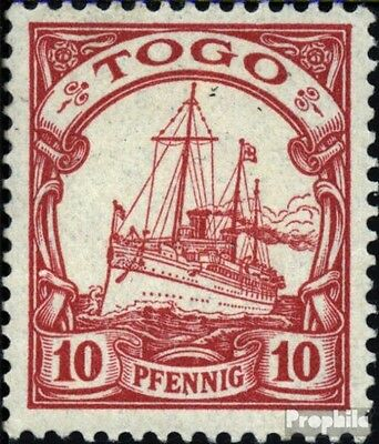 Togo (German. Colony) 9 used 1900 Ship Imperial Yacht Hohenzoll