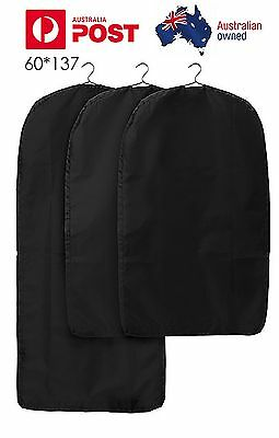 2X 60*137 CM  Clothing Dust Protective Garment Cover Bag Suit Dress Coat