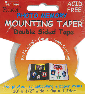"""""""Photo Memory Double-Sided Mounting Tape-.5""""""""X30', Set Of 3"""""""