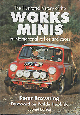 Works Minis Illustrated History In International Rallies & Races Peter Browning