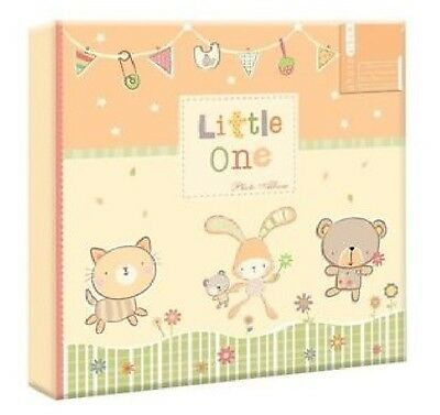"LITTLE ONE PHOTO ALBUM: 10x15 cm (4""x6"") : Holds 200 photographs : WH3 905 : NEW"