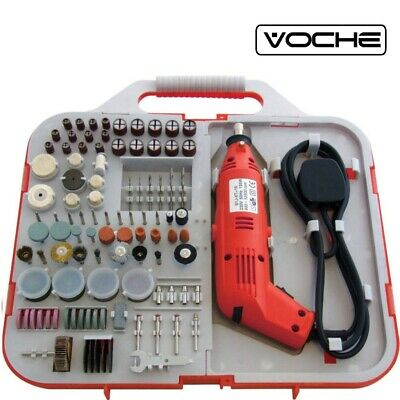 Voche 162Pce Electric Rotary Mini Drill Bit Set Jewellery Making Craft  Tool
