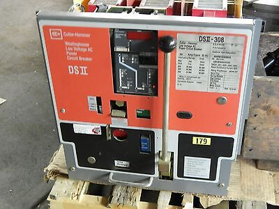 Cutler-Hammer DS II-308 800A w 600A RP LSIG Digitrip Breaker Westinghouse DSII 2
