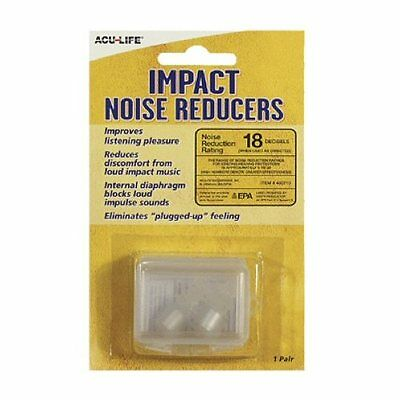 Acu-Life Impact Noise Reducers (1 x pair ear plugs)