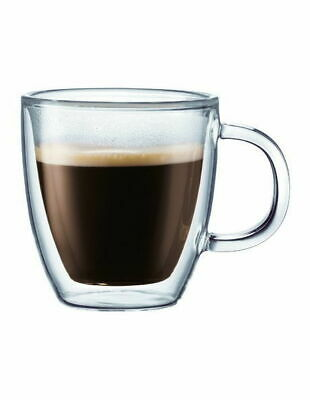 NEW Bodum Bistro Espresso Cup, Set of 2 White