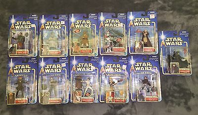 (11 New) Star Wars Attack of The Clones Action Figures