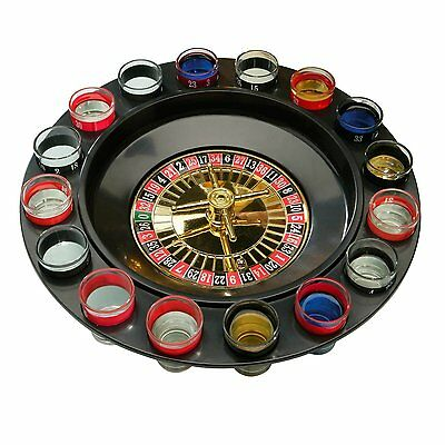New Party Drinking  Roulette 16 Glass Lucky Shot Drinking Game