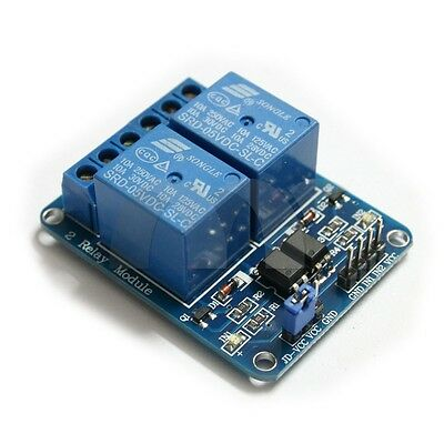 2-Channel 5V Relay Module Coupling Optocoupler High Trigger For MCU Arduino