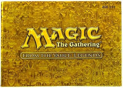 FROM THE VAULT: LEGENDS Mtg Magic 15 FOIL CARDS BOX SET