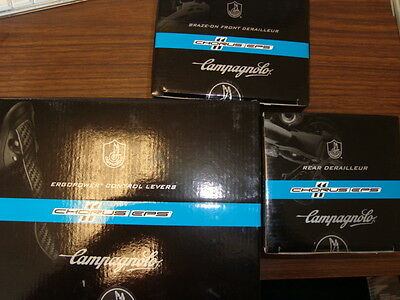 Campagnolo  EPS 3 piece group 11 Speed Chorus Front & Rear Derailleur shifters