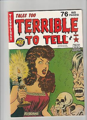 Tales Too Terrible To Tell #8 VF+ 1993 NEC Comic
