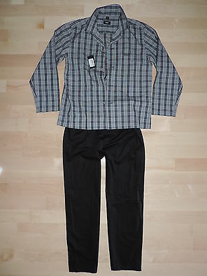 Hugo Boss Pajama PJS Sleepwear Set Loungewear S M XL Luxury 100% Cotton