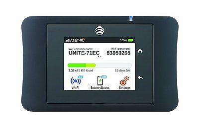 Brand New AT&T Unite Pro 4G LTE Mobile WiFi Hotspot (AT&T) 781S- Free Shipping