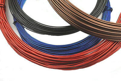 50 Feet Round Aluminum Jewelry & Craft Wire 16 Gauge Choose Color