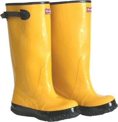Boss Slush Boots Rubber Size 16 Over the Shoe Knee Boots 20050
