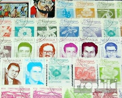 Nicaragua 50 different stamps