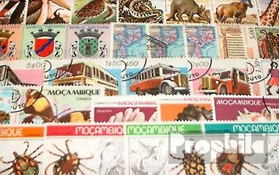 Mozambique 50 different stamps