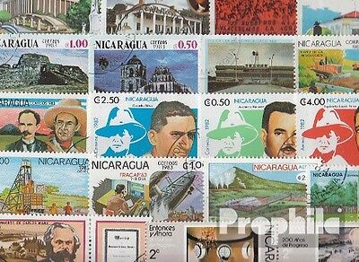 Nicaragua 100 different special stamps