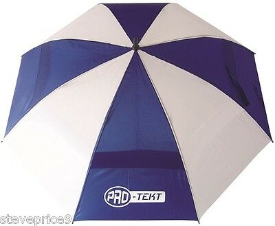 Brand New Men's White / Navy Pro Tekt Golf Umbrella.
