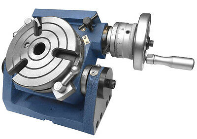 "Rotary Table Tilting Table 4""/100mm with MT-2 Bore - TVM"
