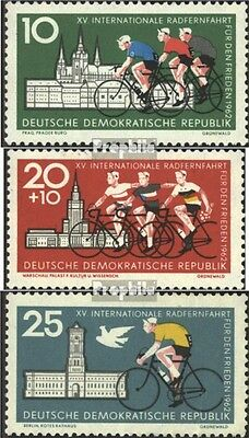 DDR 886-888 (complete.issue) unmounted mint / never hinged 1962 Peace Race