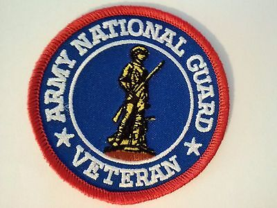 Army National Guard Veteran Patch   3""