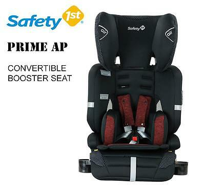 Safety 1st Prime Ap Convertible Booster Infant Baby Car Seat 6mth to 8year Red