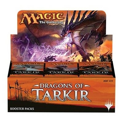 **IN STOCK** Draghi di Tarkir - Dragons of Tarkir 36-Booster Box MAGIC Italian