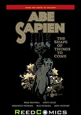 ABE SAPIEN VOLUME 4 THE SHAPE OF THINGS TO COME GRAPHIC NOVEL (144 Pages)