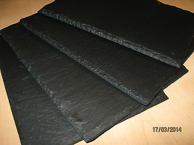 Welsh Handmade Natural Slate Placemats 2,4,6,8,10,12-Ideal Birthday Gift Present