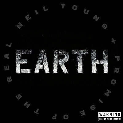 Neil & Promise Of The Real Young - Earth  2 Cd New+