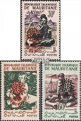Mauritania III-V II (complete issue), not spent unmounted mint / never hinged 19