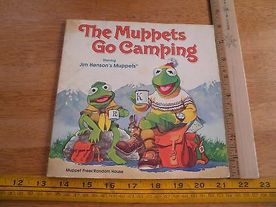 The Muppets go Camping Random house book Kermit 1981 sc