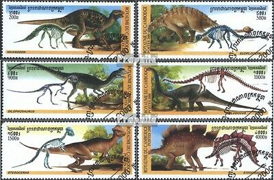 Cambodia 2026-2031 (complete issue) used 2000 Prehistoric Anima