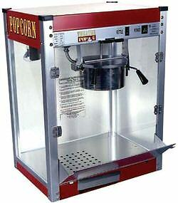 Commercial 16 Oz Popcorn Machine Theater Popper Maker Paragon Tp-16 #1116110