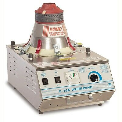 Cotton Candy Floss Machine Maker 3015A X-15 Whirlwind