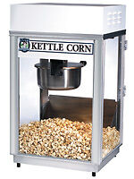 Kettle Corn Popcorn Popper Machine Gold medal 2656KC