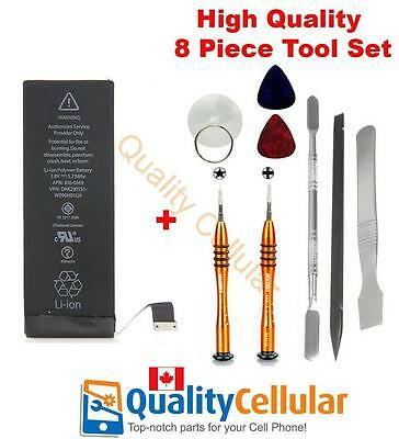 iPhone 5c Battery and 8 Piece Jakemy Tools 1510 mAh 616-0667 616-0669 616-0762