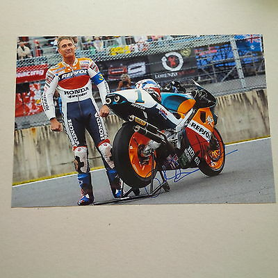 MICK DOOHAN 5 x WELTMEISTER Moto GP HONDA In-person signed Photo 20x30