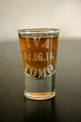 LOT SALE - Shot glass Set of 100 glases with personalized design