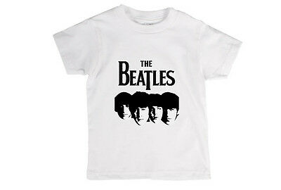The Beatles Band New T-Shirt Toddler Childrens Baby Unisex T Shirt!