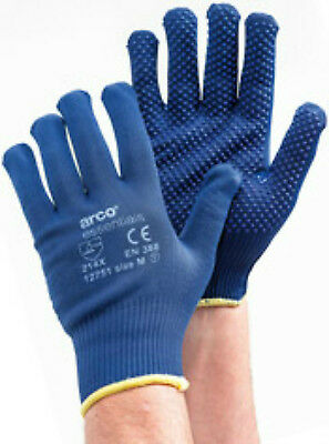 Arco Essentials Grip Light Dotted Gloves - ALL Sizes Available + Free P&P