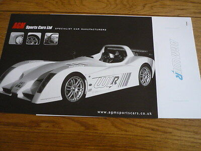 Amg Sports Cars Ltd Amg Wlr .'sales Brochure' Including Prices