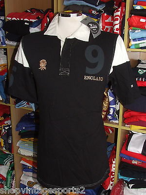 NEW Rugby Polo Shirt England (M) Guinness Jersey Maillot Trikot Maglia