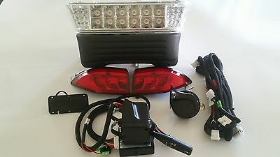 Club Car Precedent 2008.5+ deluxe LED Headlight and tailight Street legal Light