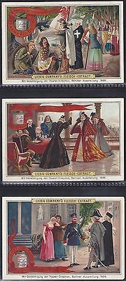 Liebig-*s0498*-Full Set Of 6 Cards- German - The Theatre In Old Berlin I